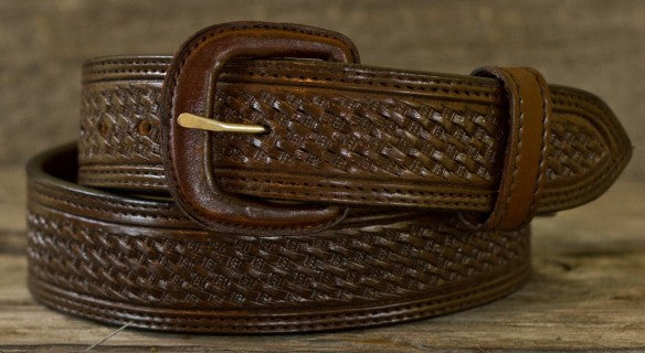 1 1/2 Basket Weave Belt by Vogt