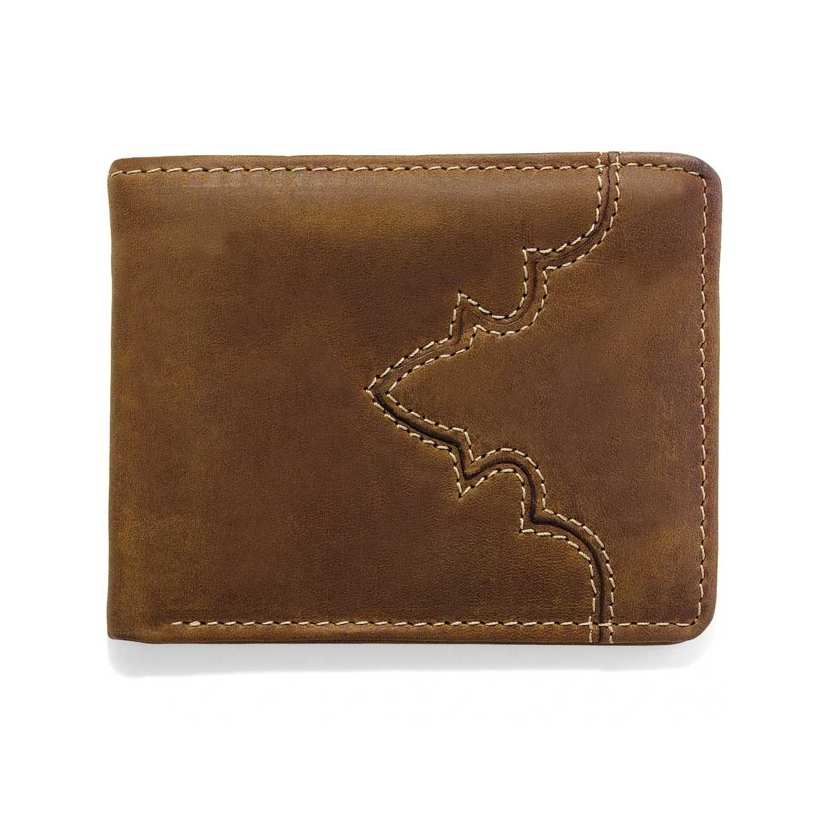 Leegin Creative Leather Silver Creek Western Classic Bi-Fold Wallet