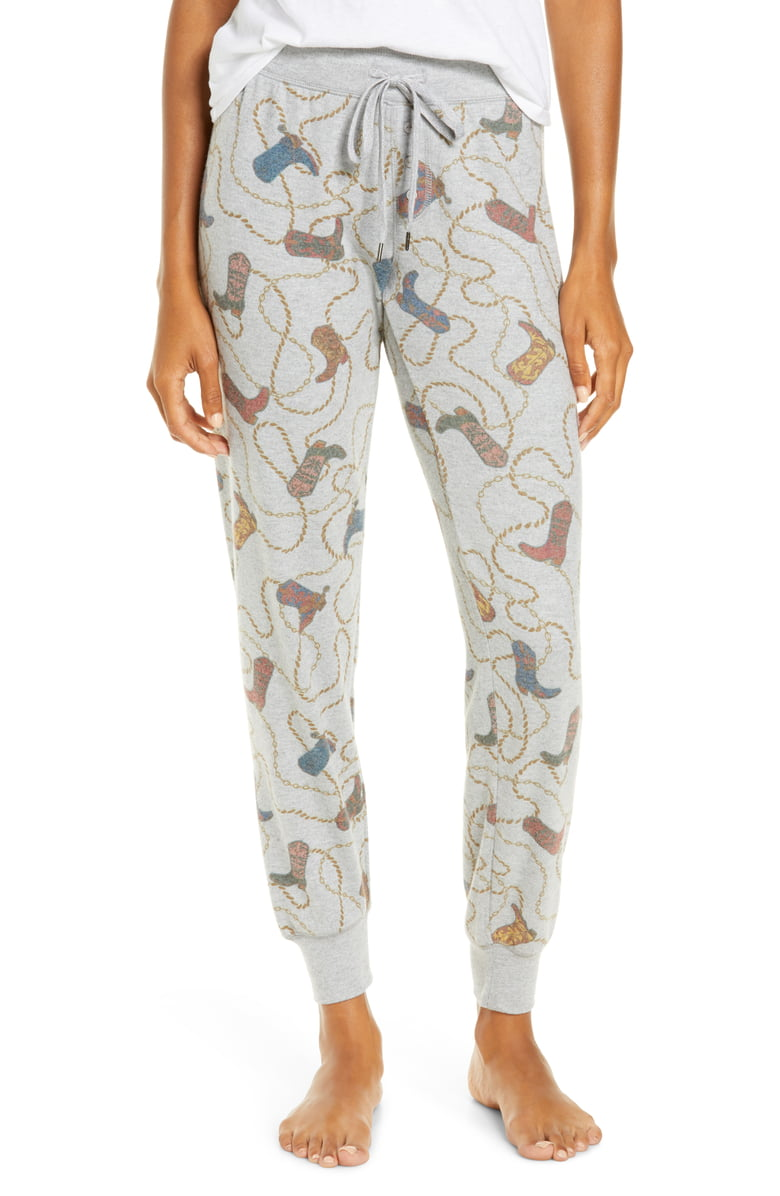 Boot Print Pajama Pants