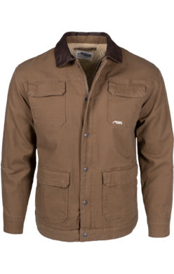 Mountain Khaki Tobacco Ranch Shearling Men's Jacket