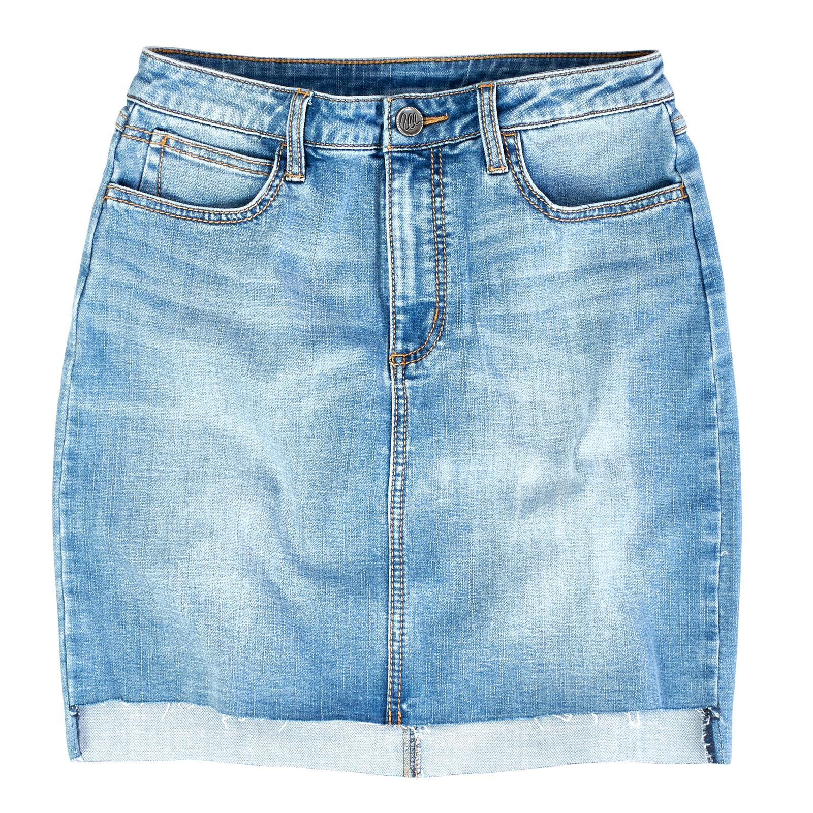 Wrangler Women's Denim Mini Western Skirt