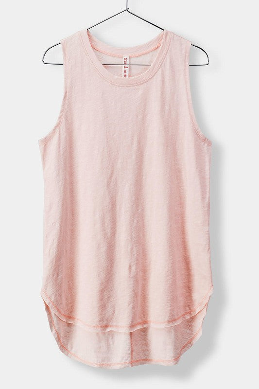 Trend Notes Basic Pink Women's Tank