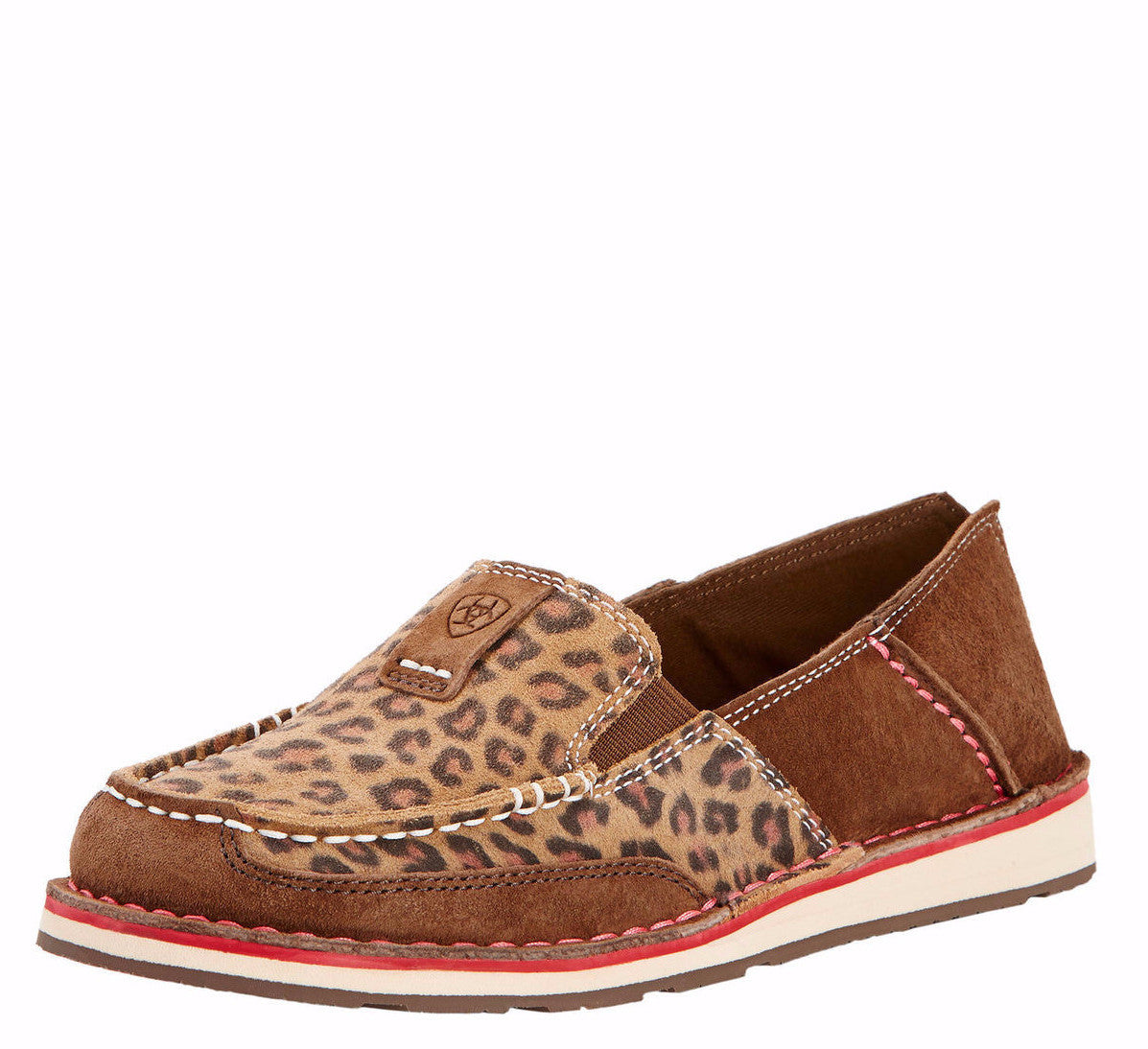 Ariat Women's Cheetah Cruiser Moc