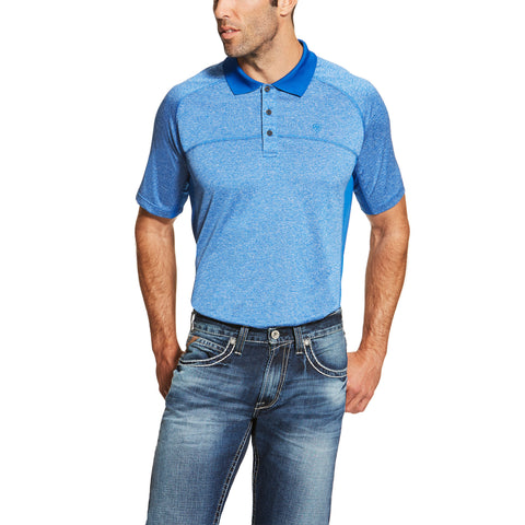Men's Blue Charger Polo by ARIAT