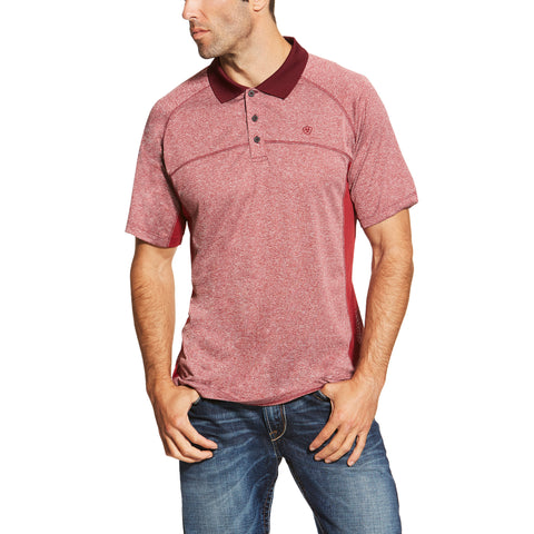 Men's Red Polo Shirt by ARIAT