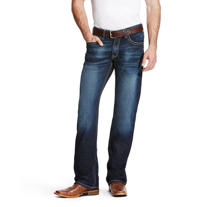 Ariat M4 Adkins Burnout Denim Men's Jean