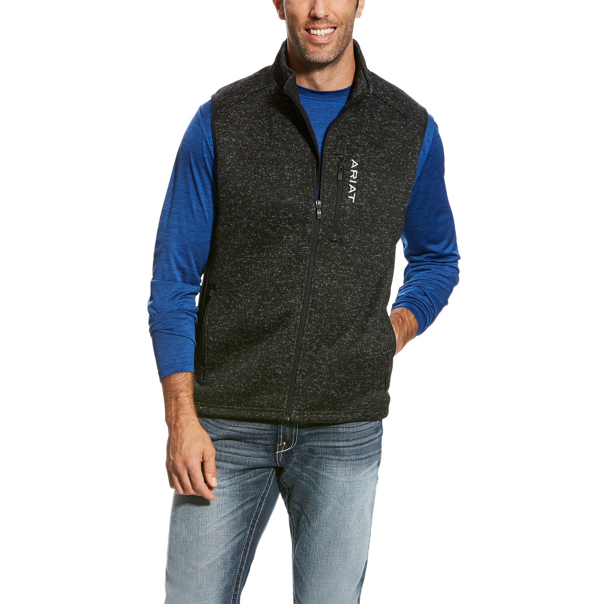Ariat Caldwell Men's Full Zip Vest