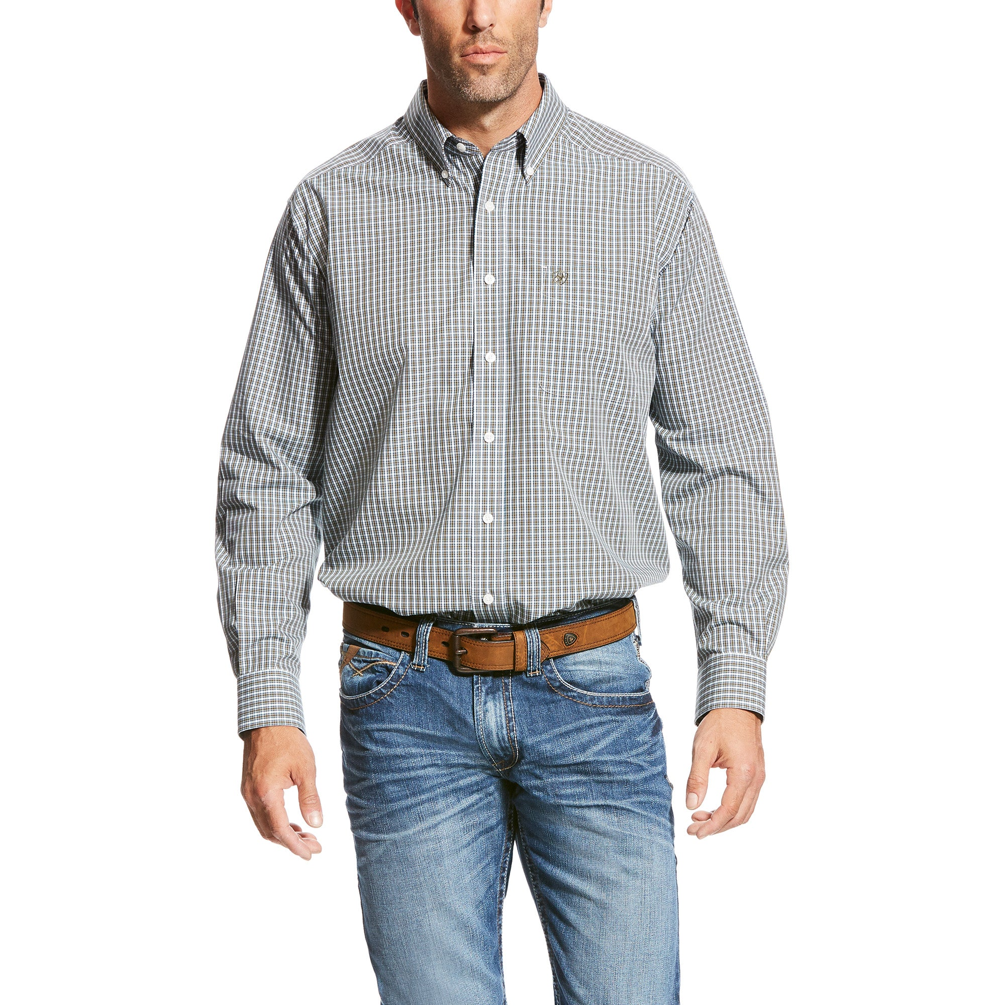Ariat Ullerich Small Plaid Men's Shirt