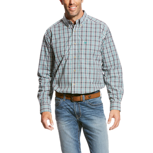 Men's Valencia Long Sleeve Multi Color Plaid