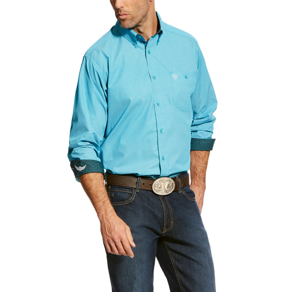 Victorious Mens LS Button Down By Ariat