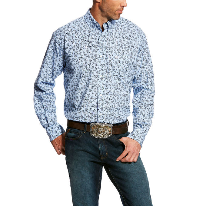 Ariat Dawson Long Sleeve Print Men's Shirt