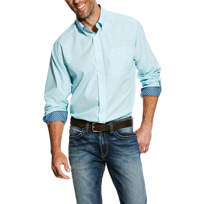 Ariat  Oxford Long Sleeve Button Up Men's Shirt
