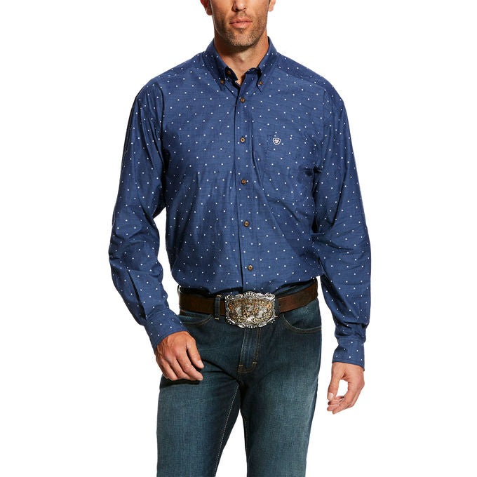 Ariat Gatham Print Button Up Men's Shirt