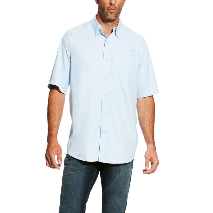 Ariat Venttek Blue Cloud Short Sleeve Men's Shirt