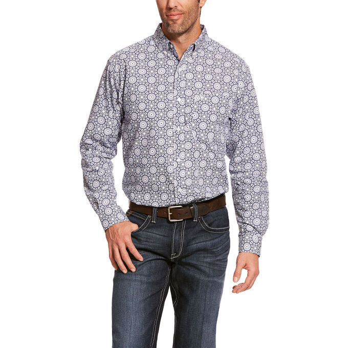 Ariat Blue Depths Aikens Men's Button Down