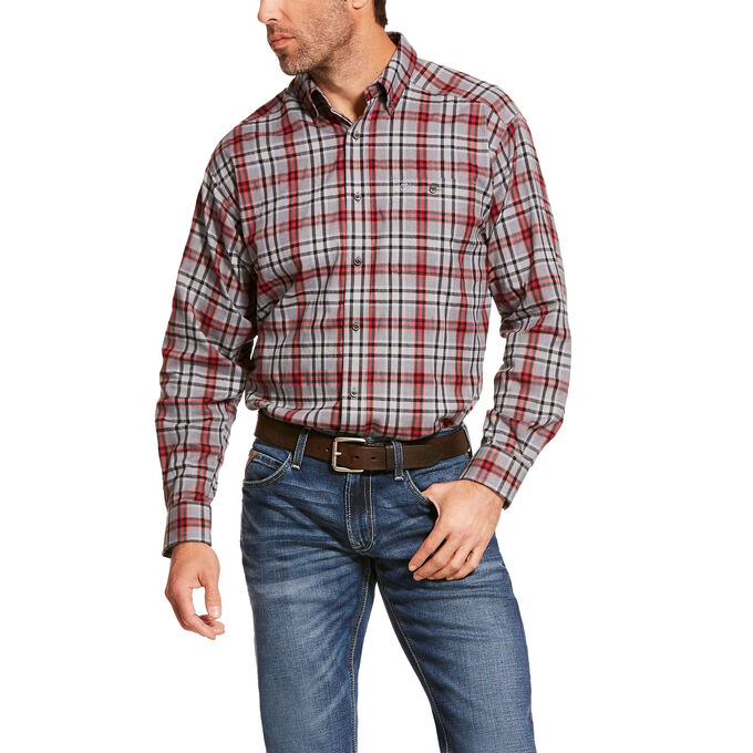 Ariat Ellixon Flannel Stretch Classic Fit Shirt