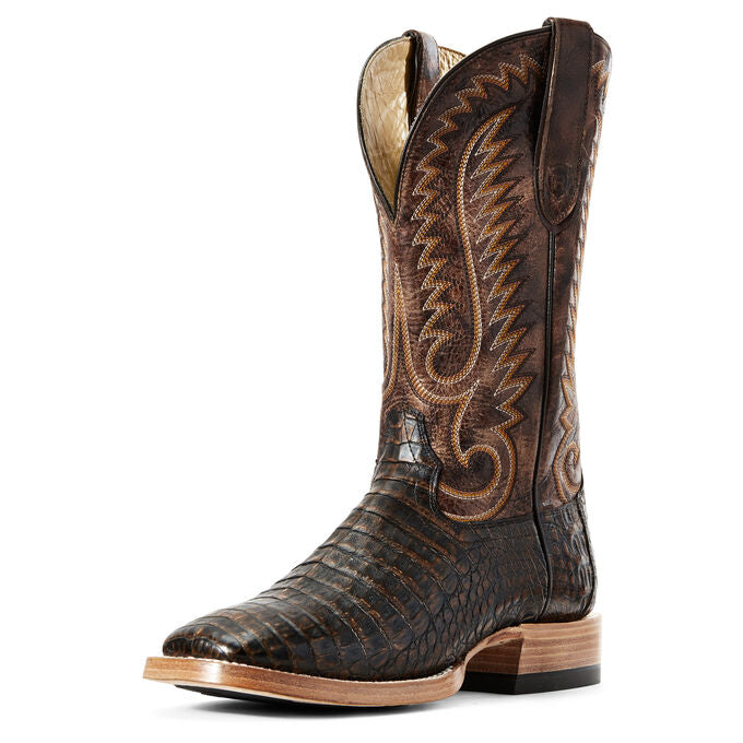 Ariat Relentless Pro Toffe Caiman Belly Men's Western Boot