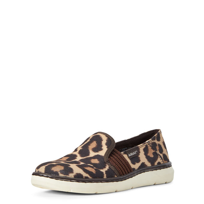 Ariat Ryder Leopard Women's Slip-On