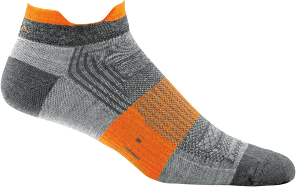 Darn Tough Women's/Men's Juice No Show Light Cushion Gray Sock
