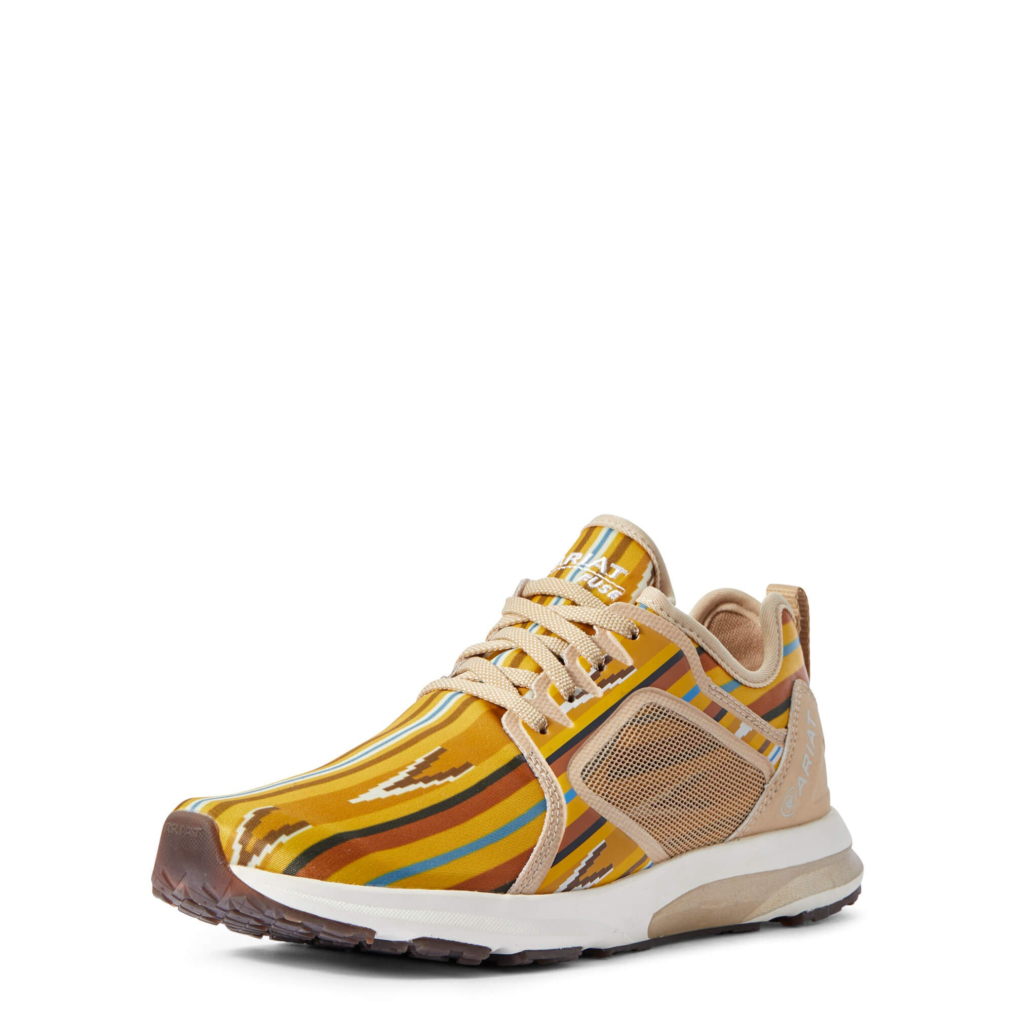Ariat Fuse Mustard Navajo Tribal Tennis Shoe