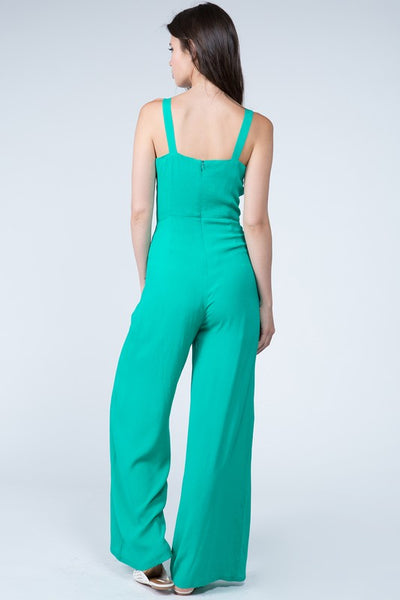 Fanco Green Women's Jumpsuit