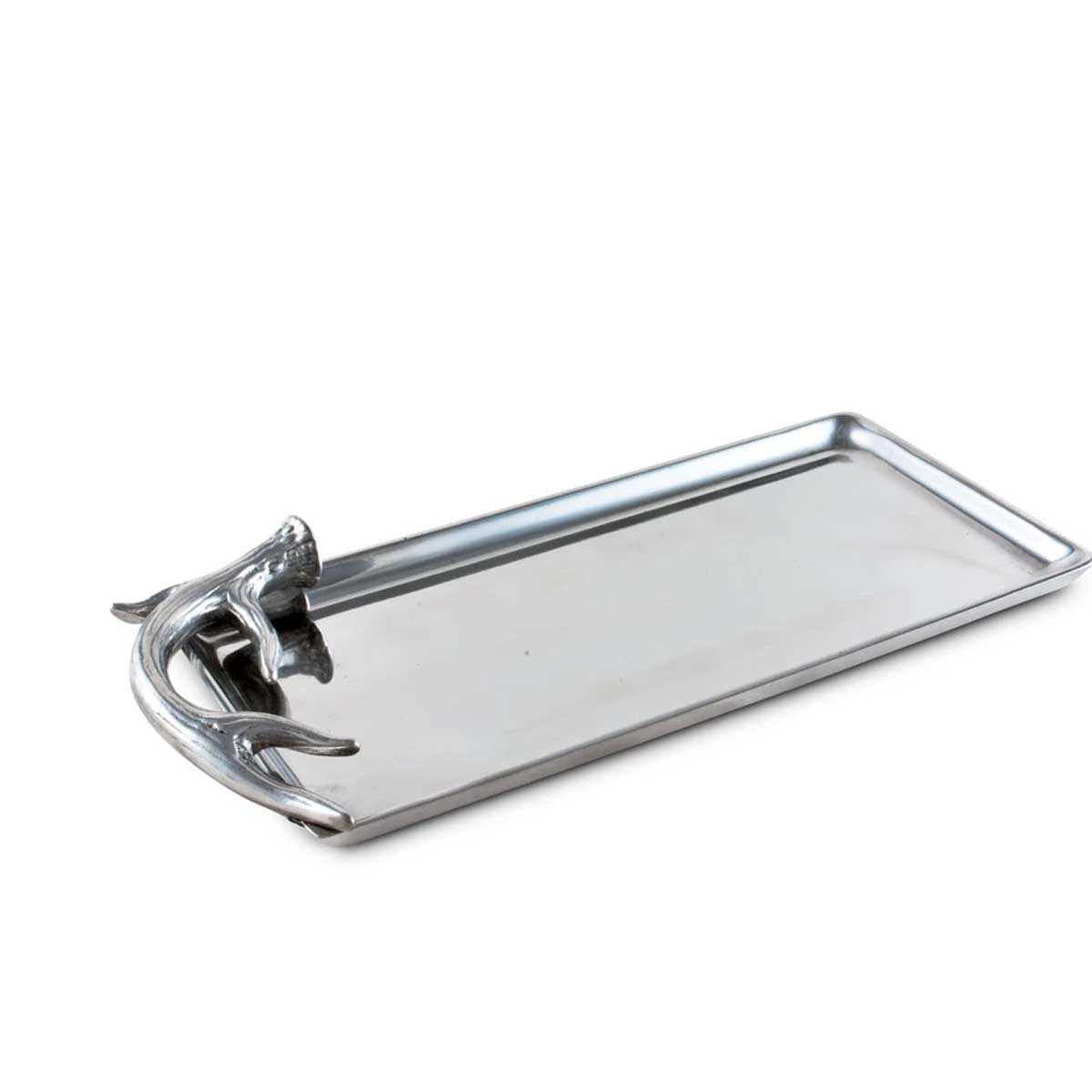 Vagabond House 6x12 Inch Antler Serving Tray