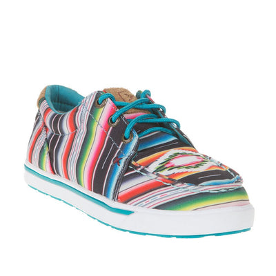Ladies Twisted X Serape Hooey Lopers