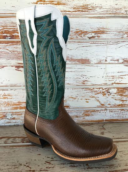 Women's Chocolate Lizard Boot by Ariat