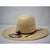 American Hat Co. Chocolate Ribbon Western Straw Hat