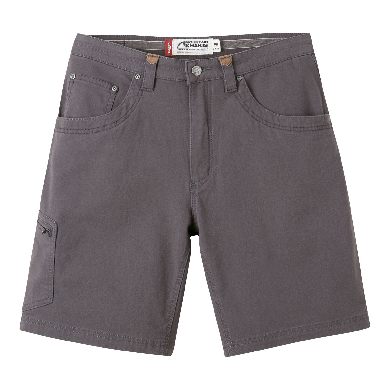 Mountain Khakis: Slate Classic Fit Men's Short