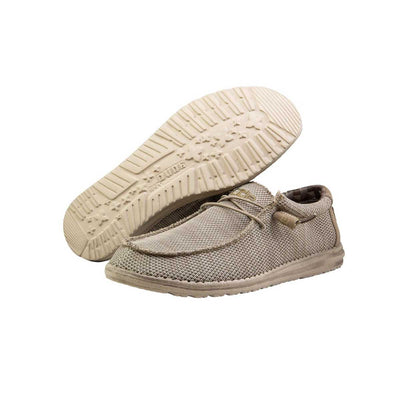 Hey Dude Wally Sox Men's Shoes - Sand