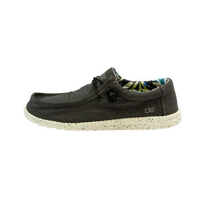 Hey Dude Wally Stretch Men's Shoes - Black