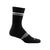 Darn Tough Women's Element Crew Lightweight Athletic Socks - Black White