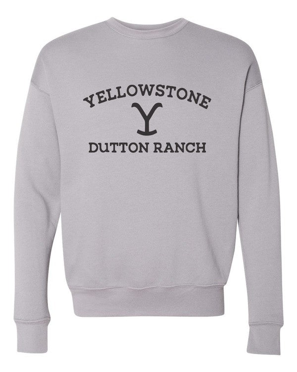 Ocean & 7th Heathered Stone Dutton Ranch Women's Pullover