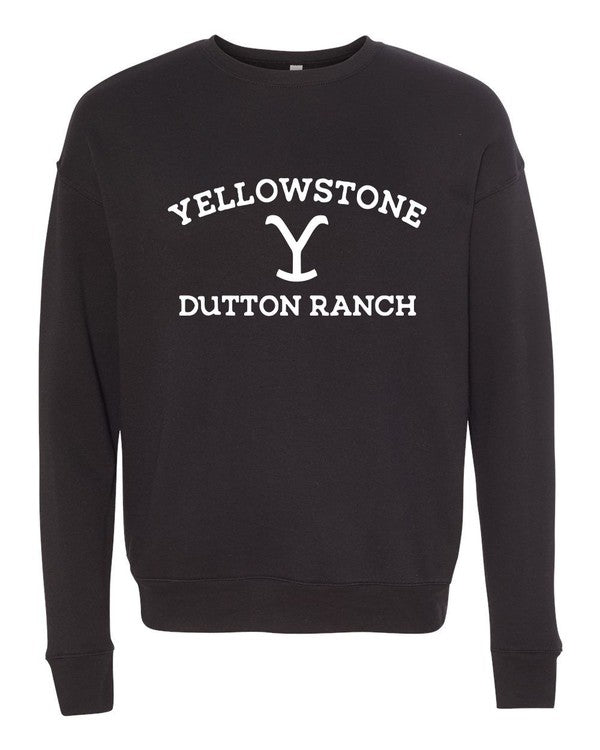 Ocean & 7th Dutton Ranch Black Women's Pullover