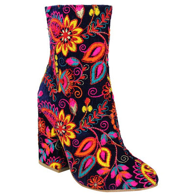 Naughty Monkey Flower Power Bootie