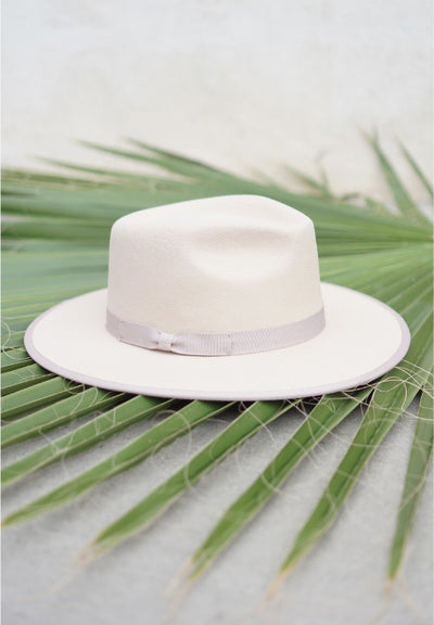Wool Fedora Vintage Band Hat