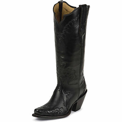 Tony Lama Black Elko Women's Boot