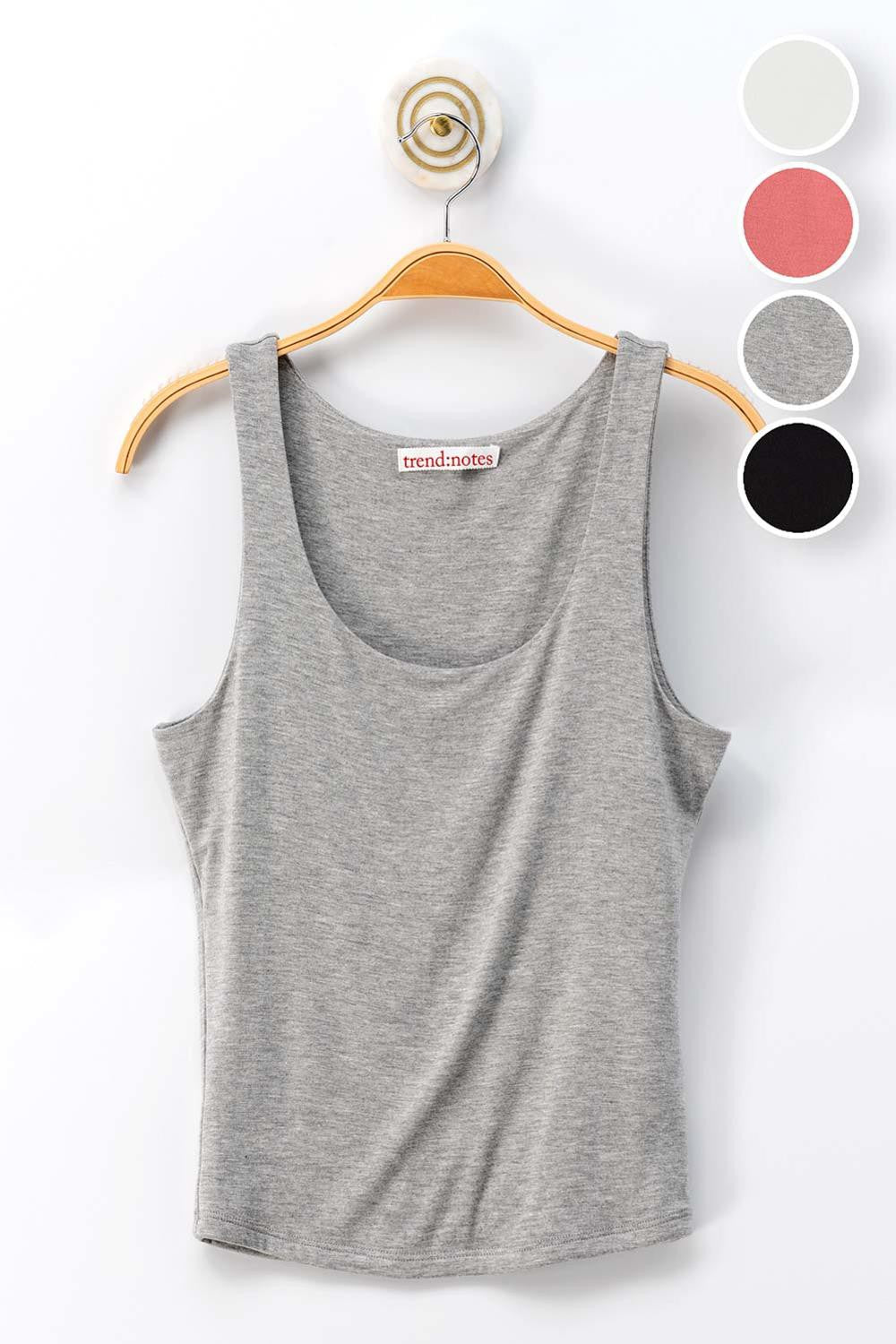 Gray Double Layer Basic Tank