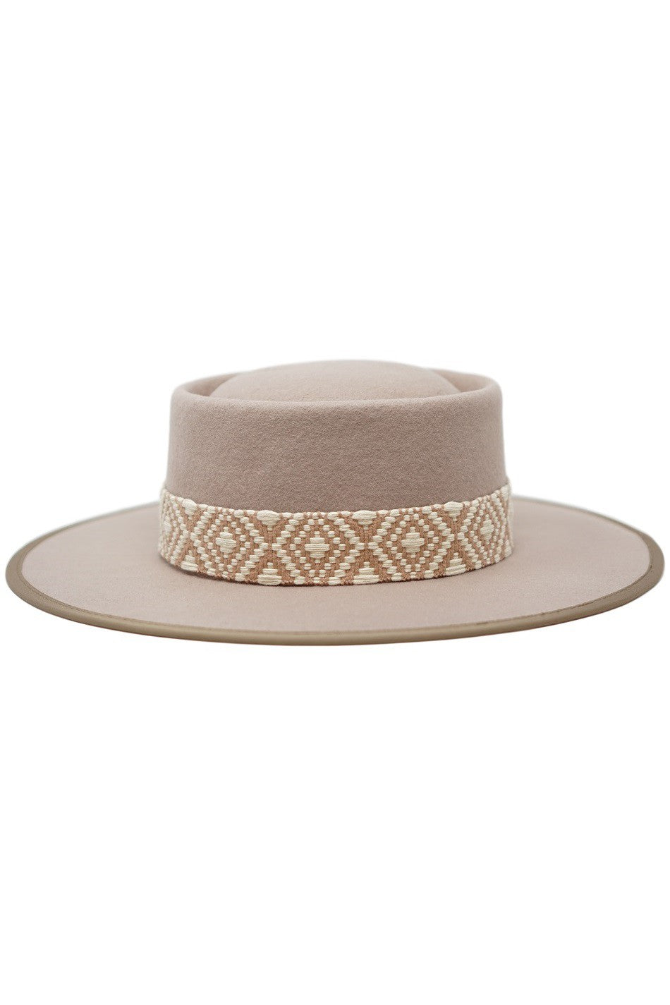 Women's Gambler Farrah Wool Tribal Hat