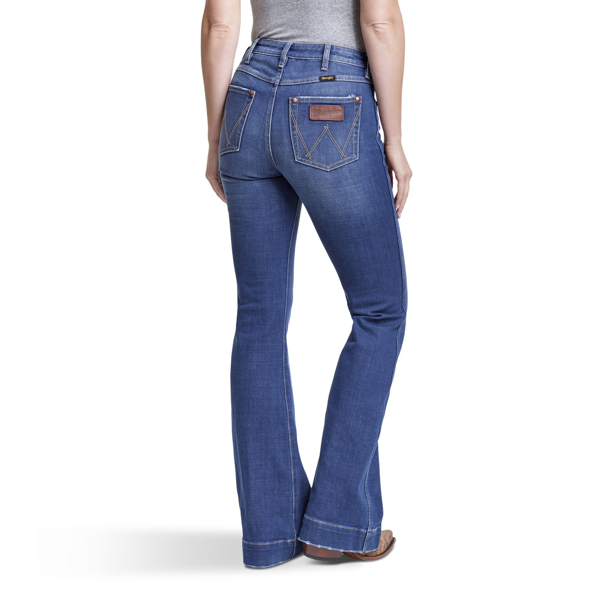 Wrangler Retro Trouser High Rise Stretch Jean