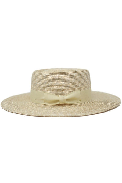 Straw Gambler Band Hat