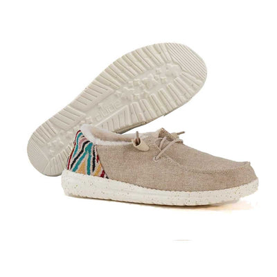 Hey Dude Women's Wendy Funk Wool Shoes - Beige