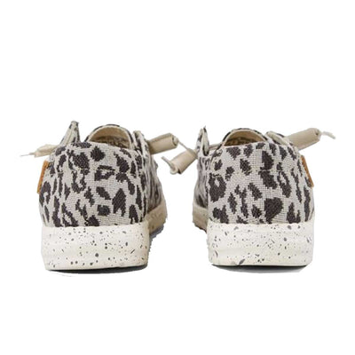 Hey Dude Women's Wendy Woven Slip-On Comfort Shoes - Cheetah