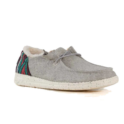 Hey Dude Women's Wendy Funk Wool Shoes - Grey