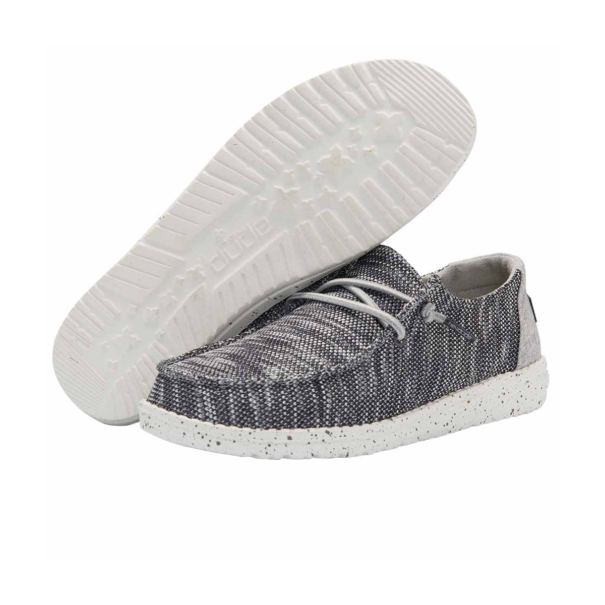 Hey Dude Women's Wendy Sox Sneakers - Dark Grey