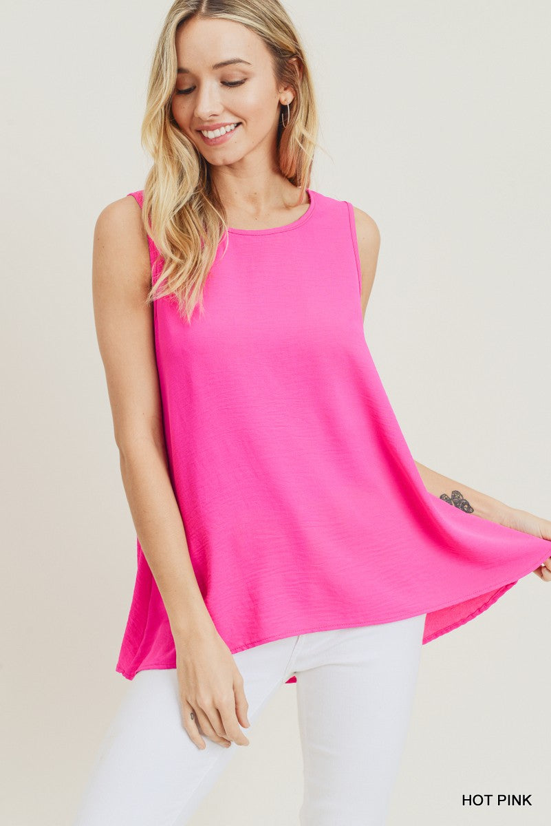Hot Pink Must Have Tank