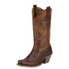 Ariat Lively Sassy Brown Snip Toe Womens Boot