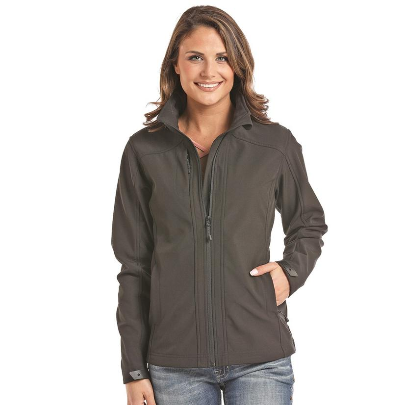 Panhandle Performance Black Softshell Women's Jacket