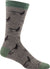 Darn Tough Men's McFly Fly Fishing Crew Light Taupe Sock